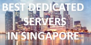 Dedicated Servers Singapore