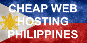Cheap Web Hosting Philippines