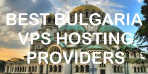 Bulgaria VPS Providers