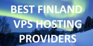 Finland VPS Hosting Providers